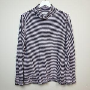Vineyard Vines Stripe Turtleneck Long Sleeve Shirt